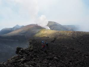 "Crateri Sommitali Etna Sud "" VolcanoDiscovery"""